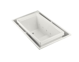 Kohler Sok® 75 x 41 in. Drop-in Effervescence Bathtub with Chromatherapy and Left-Hand Drain K1189-C1