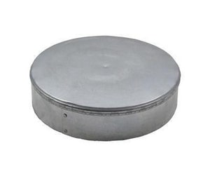 Fresh Air Manufacturing 28 ga Galvanized Furnace Cap FFC