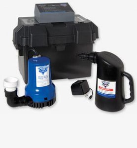 Glentronics Back Up Sump Pump System GPHCC1730