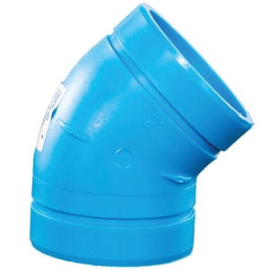 Orion Fittings Polypropylene Mechanical Joint 45 Degree Elbow O45E