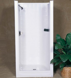 Bathcraft 36-1/2 x 36 in. Shower B3603WH