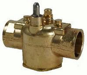 Schneider Electric 3/4 in. Sweat 2 Way Zone 24 V Valve IVT2317G13A01A
