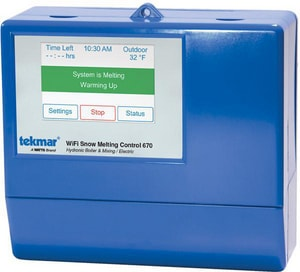 Tekmar Control Systems Snow Detection and Melting Control T665