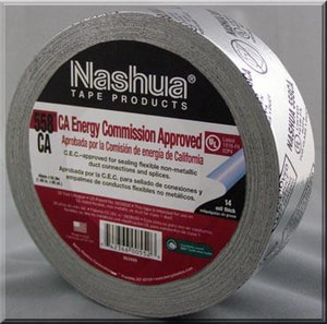 Covalence Specialty Adhesives Nashua® 2 in. x 50 yd. Metallic Grey Cloth Duct Tape C683602
