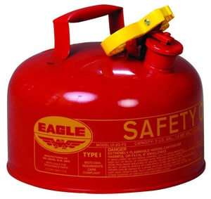 Eagle Manufacturing Type I Metal Safety Gas Can EUI0S