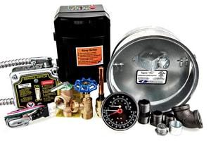 Weil Mclain WGO- Water Trim with Control Weil-McLain WGO Boilers W386700861