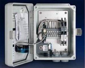 Orenco Systems 120 V Redundant Off Simplex Alarm Panel OA1RO