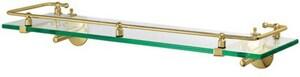 Gatco Glass Shelf in Polished Brass G1438
