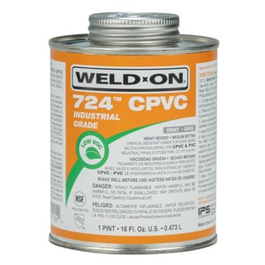 Weld-On CPVC Heavy Body Low Volatile Organic Compound Cement in Grey I11890