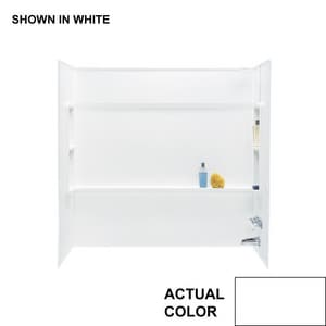 Swan Corporation Veritek® 30 x 60 in. Bath Wall Kit SBA3060WH