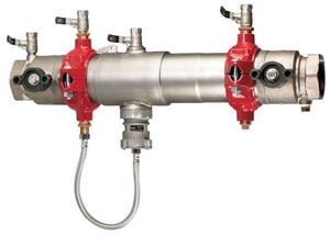 Watts Series 957 304 Stainless Steel Grooved 175 psi Backflow Preventer W957QT