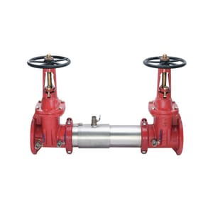 Watts Double Check Valve Assembly with Outside Stem and Yoke Gate Valve W757OSY