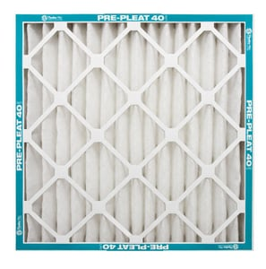 Pre-Pleat® 24 x 1 in. Standard Cap Pleated LPD Panel Filter P800550124