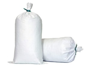 Sacramento Bag Mfg 26 in. Polypropylene Sand Bag with Tie String SPBAGIN1426