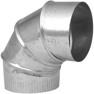 Northwest Metal Products 4 in. 24 Gauge Adjustable 90 Elbow N149005