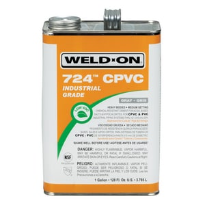 Weld-On CPVC Cement in Grey I12233