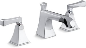 Kohler Memoirs® 1.2 gpm Widespread Lavatory Faucet in Polished Chrome K454-X4V-CP