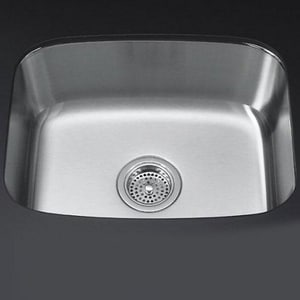 Kohler Undertone® 19 x 16 in. Single Basin Under-Mount Sink K3182-NA