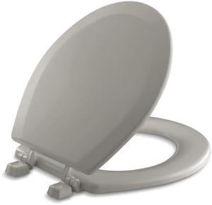Kohler Triko™ Round Front Toilet Seat with Plastic Hinges K4716-T