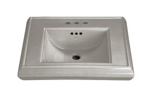 Kohler Memoirs® 3-Hole Bathroom Rectangular Lavatory Sink with 4 in. Faucet Centerset and Center Drain K2239-4