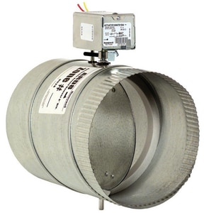 Honeywell Auto Round Damper with 24V Motor HARD