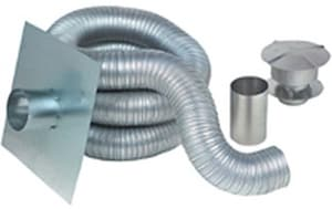 Z-Flex 35 ft. Aluminum Gas Chimney Liner Kit Z2GACKIT35