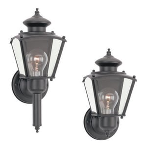 Seagull Lighting New Castle 5-1/4 in. 100 W 1-Light Medium Lantern S850312
