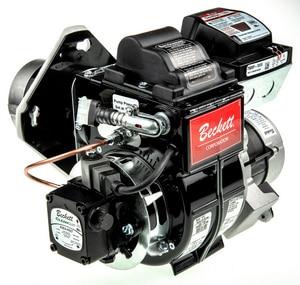 Weil Mclain 12-1/2 in. Beckett Oil Burner with 2-Stage Pump GO 3 W521100013