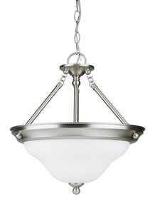 Seagull Lighting Sussex 16-3/4 in. 75 W 3-Light Medium Pendant S66062