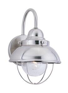 Seagull Lighting Sebring 11-1/4 x 8 in. 100W 1-Light Outdoor Wall Lantern S8870