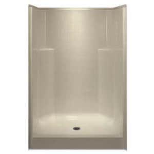 Aquarius Industries Luxury 48 x 48 in. Shower in White AG4836SHNSTILECWHT
