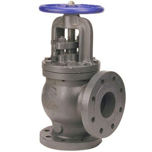 Nibco 250 psi Cast Iron Flanged Angle Stop Check Valve NF869B