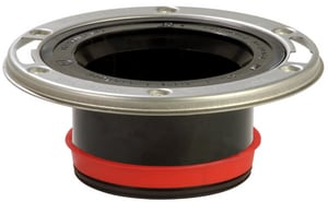 Sioux Chief PushTite™ ABS Closet Flange in Black S887GAM