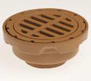 Jay R. Smith Manufacturing 8-1/2 in. No-Hub Floor Drain with Cast Iron Top S2210Y