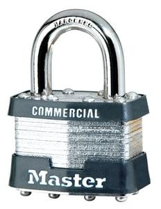 Master Lock 3 Series 1-1/2 in. Steel Padlock M3