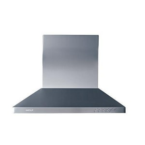 Wolf Range 30 in. Chimney Wall Heavy Duty (shell Only) in Stainless Steel WCTWH30