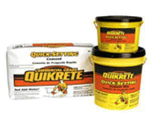 Quikrete 50 lbs. Quick Setting Cement Q124050