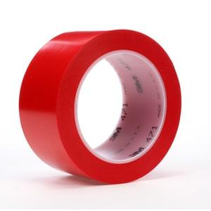 3M 36 yd. x 2 in. Vinyl Tape in Red 3M02120004305