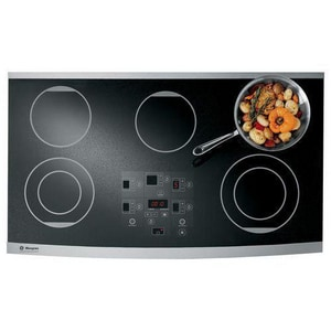 General Electric Appliances Monogram® 36 in. Ribbon Digital Electric Cooktop GZEU36RSFSS