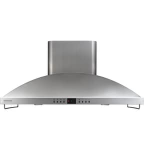 General Electric Appliances Monogram® 42 hp Island Hood in Stainless Steel GZV1050SFSS