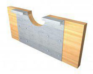 Metwood 2 in. Joist Notch Reinforcer M210NR