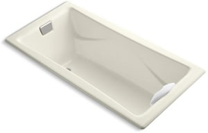 Kohler Tea-For-Two® 71-3/4 x 36 in. Drop-In Bathtub with Reversible Drain K863