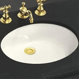 Kohler Caxton 174 17 X 14 In Undermount Bathroom Sink With