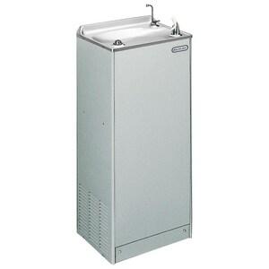 Elkay Legacy 8 gph. Hot and Cold Floor Mountain Water Cooler Grey EEFHA8L1Z