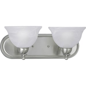 Progress Lighting Avalon 18 in. 100W 2-Light Vanity Fixture PP3267