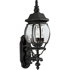 Progress Lighting Onion Lantern 23-1/4 in. 60W 3-Light Outdoor Wall Lantern PP5700