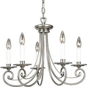 Progress Lighting Bradford 22 in. 60W 5-Light Candelabra Incandescent Chandelier PP4097