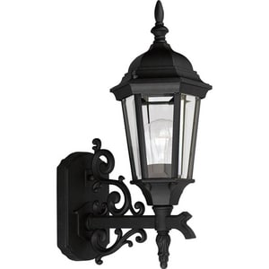 Progress Lighting Welbourne 16-5/8 in. 100W 1-Light Light Wall Lantern PP5681