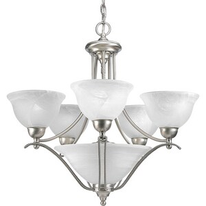 Progress Lighting Avalon 99 in. 100W 5-Light Medium Chandelier PP4069