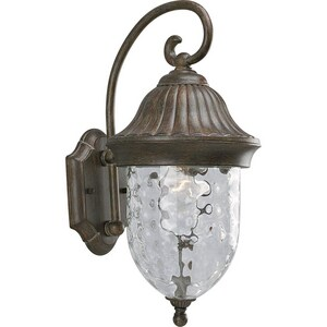 Progress Lighting Coventry 17-1/4 x 8 in. 100W 1-Light Outdoor Wall Lantern PP5828